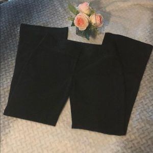 Express black Editor pants in EUC
